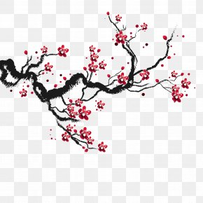Cherry Blossoms - Cherry Blossom Drawing PNG