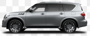 Car - 2018 INFINITI QX80 SUV Car Dealership Vehicle PNG