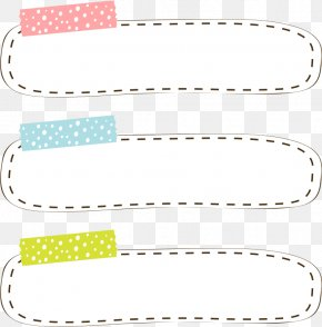 Tape Border - Adhesive Tape Adobe Illustrator PNG