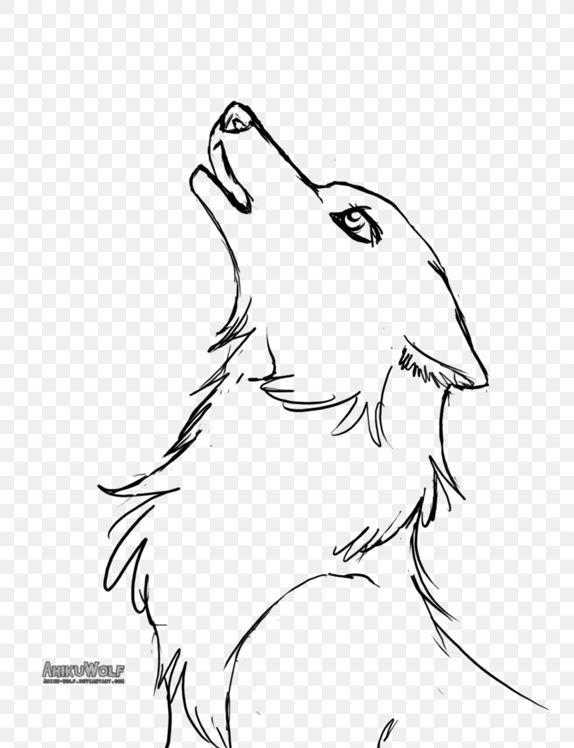 Line Art Gray Wolf Puppy Baby Wolves Drawing Png 748x1069px Line Art Art Artwork Baby Wolves