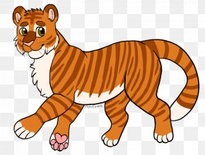 Tiger Eye Drawing - Whiskers Lion Bengal Tiger Drawing Clip Art PNG