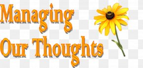 With The New Day Comes New Strength And New Though - A Flower Picture Logo Brand Happiness Font PNG