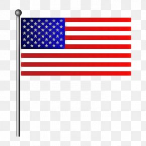 Flag Day Usa Rectangle - Flag Flag Of The United States Line Rectangle Flag Day (usa) PNG