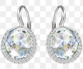 Swarovski Jewelry Diamond Pendant - Earring Swarovski AG Jewellery Crystal Pendant PNG