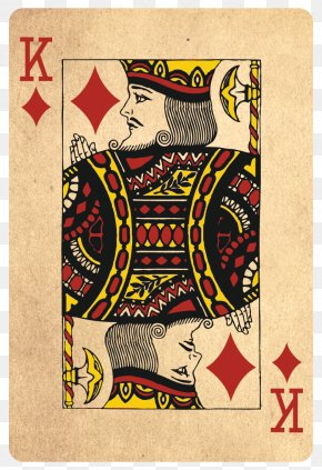 Europe And America Adorn Dark Magic - Playing Card King Roi De Carreau Jack Queen Of Clubs PNG