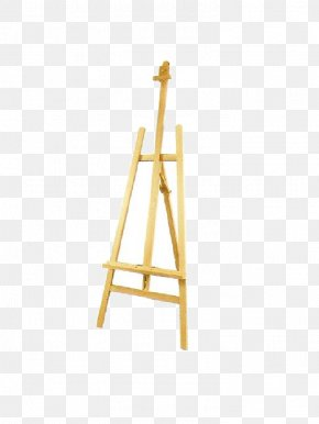 Roll Up Banner - Easel Standee Painting Wood Display Stand PNG