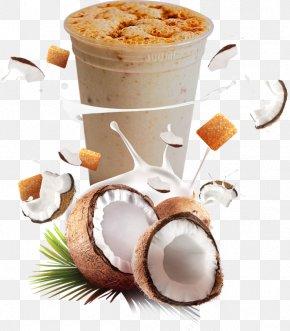 Milk Float - Coconut Milk Frozen Dessert PNG