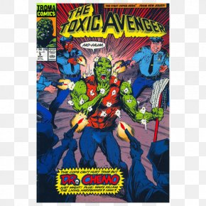 Toxic Avenger - Comics Troma Entertainment The Toxic Avenger Superhero Movie PNG
