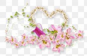 Flower Decoration Heart - Flower PNG