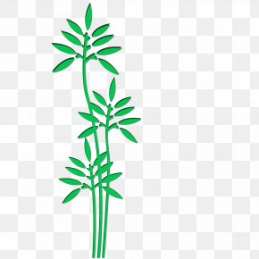 Green Tree Flat - Flat Design Tree PNG