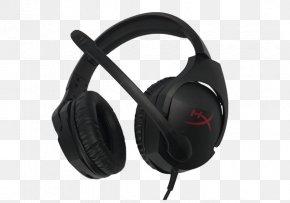 HyperX Gaming Headset - Headphones Headset Microphone Kingston HyperX Cloud Stinger PNG