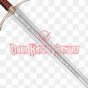 Knight - Sabre The Accolade Knights Templar Sword PNG