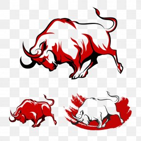 Red Bull - Spanish Fighting Bull Royalty-free Clip Art PNG