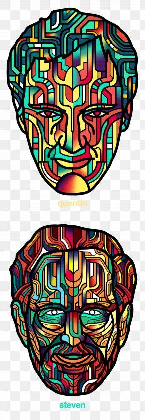 Visual Arts Symmetry - Psychedelic Art Line Symmetry Visual Arts Pattern PNG