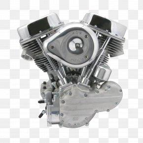 Motorbike - Harley-Davidson Panhead Engine S&S Cycle Long Block PNG