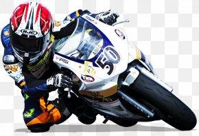 Racing Motorbike Clipart - Motorcycle Racing Superbike Racing PNG
