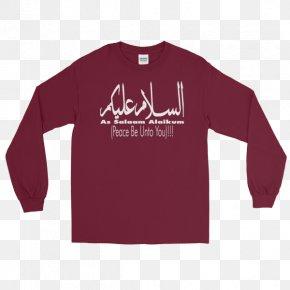 T-shirt - Long-sleeved T-shirt Hoodie Raglan Sleeve PNG