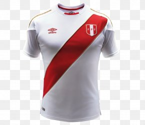 Soccer Jerseys - 2018 FIFA World Cup Peru National Football Team T-shirt Russia Sports Complex VIDENA PNG
