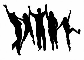 Group Cheer Cliparts - Royalty-free Clip Art PNG