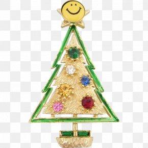 Christmas Tree - Christmas Ornament Christmas Tree Smiley Santa Claus PNG