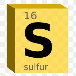 Symbol - Periodic Table Sulfur Symbol Chemical Element Block PNG