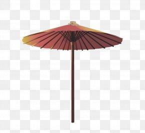 A Stretched Umbrella - Oil-paper Umbrella Rain Shade PNG