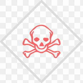 Symbol - Globally Harmonized System Of Classification And Labelling Of Chemicals GHS Hazard Pictograms Warning Label Skull And Crossbones PNG