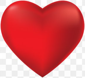 Red Heart Transparent Clip Art - Heart Red Icon Symbol PNG