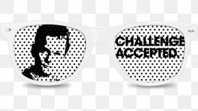 Challenge Accepted - Goggles Product Design Sunglasses PNG