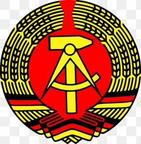 Symbol - National Emblem Of East Germany Coat Of Arms Flag Of East Germany PNG