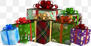 Gift - Christmas Gift Clip Art Transparency PNG