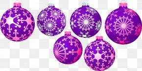 Purple Snowflake Ornament Decoration Pattern - Christmas Ornament Euclidean Vector Christmas Decoration PNG