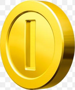 Gold Coin Image - New Super Mario Bros Super Mario 64 Super Mario Sunshine Super Mario Bros. Super Mario Galaxy PNG