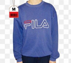 T-shirt - T-shirt Bluza Fila Textile Sweater PNG