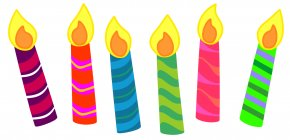 Birthday Clip Art - Birthday Cake Candle Clip Art PNG