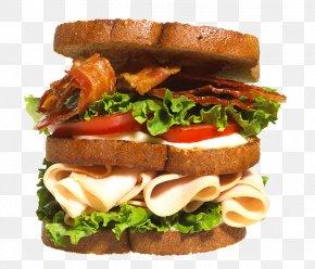 Bacon Burger - Hamburger Club Sandwich Bacon French Fries PNG