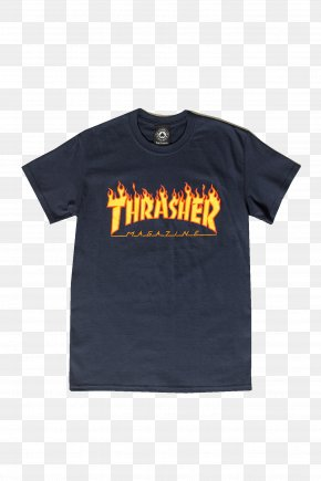 T-shirts - T-shirt Hoodie Thrasher Presents Skate And Destroy Clothing PNG