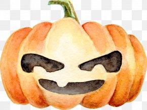 Halloween Pumpkin - Jack-o-lantern Calabaza Halloween Pumpkin PNG