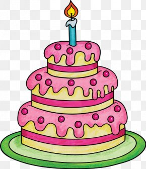 Birthday Cake - Birthday Cake Torte Cupcake PNG