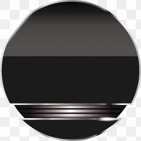 Crystal Antiquity Black Button Creative - Button Download Icon PNG