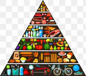 Food Pyramid - Nutrient Food Pyramid Healthy Eating Pyramid PNG