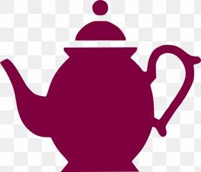 Teapot Outline - Teapot Kettle Teacup Clip Art PNG