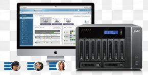 Business - Network Storage Systems Data Storage QNAP Systems, Inc. Computer Network PNG