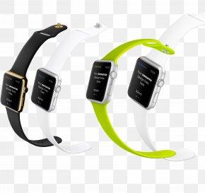 Apple Watch - Apple Watch Series 3 LG G Watch R Smartwatch PNG