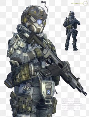 Pilot - Titanfall 2 Soldier Military Infantry PNG