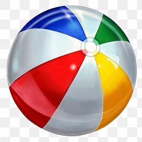 Swimming Pool Ball Transparent Image - Beach Ball Clip Art PNG