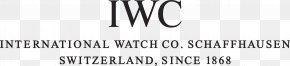 International Watch Company - International Watch Company Jewellery Omega SA Rolex PNG
