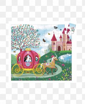 Toy - Jigsaw Puzzles Djeco Carrosse Toy Child PNG