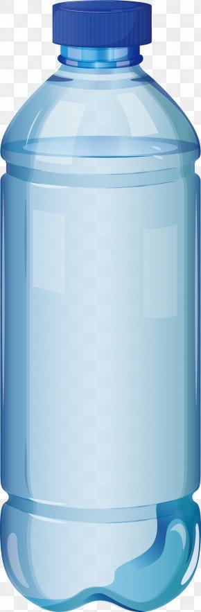 Mineral Water Bottle - Water Bottle Clip Art PNG