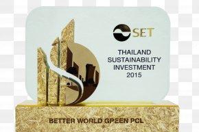 Certificate Thai - BKK:BWG Better World Green Job Stock Exchange Of Thailand Business PNG
